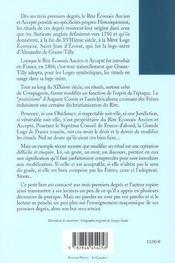 Trois Premiers Degres (Les) - 4ème de couverture - Format classique