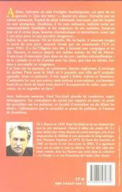 Indecente memoire - 4ème de couverture - Format classique