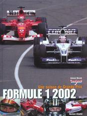 Grands prix formule 1; edition 2002 - Intérieur - Format classique