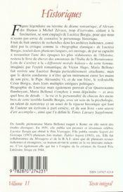 Lucrèce Borgia. - 4ème de couverture - Format classique