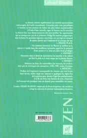 La Bourse zen - 4ème de couverture - Format classique