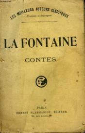 Contes. - Couverture - Format classique