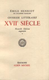 Courrier littéraire XVIIe siècle. - Couverture - Format classique