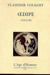 Oedipe - Couverture - Format classique
