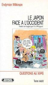 Le Japon face à l'occident - Couverture - Format classique