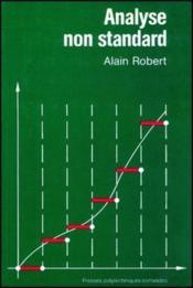 Analyse Non Standard - Couverture - Format classique