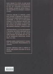 Musiciens De Jazz - 4ème de couverture - Format classique