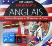 Kit Audio Harrap'S ; Anglais ; Débutez L'Anglais En 20 Séances De 5 Mn - Couverture - Format classique