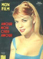 Mon Film N° 748 - Amour Mon Cher Amour - Couverture - Format classique