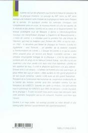 H.A.Lorentz (1853-1928) La Naissance De La Physique Moderne - 4ème de couverture - Format classique