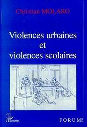 Violences urbaines et violences scolaires - Intérieur - Format classique