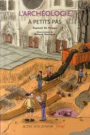 L'archéologie à petits pas - Intérieur - Format classique