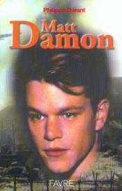 Matt damon - Couverture - Format classique