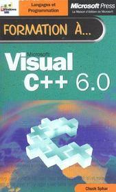 Formation A Microsoft Visual C++ 6.0 - Intérieur - Format classique