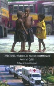 Traditions, valeurs et action humanitaire - Couverture - Format classique
