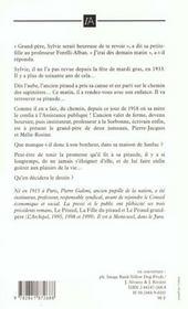 Le Destin Du Pitaud - 4ème de couverture - Format classique