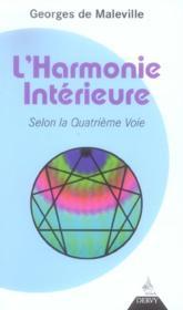 L'harmonie interieure selon la quatrieme voie - Couverture - Format classique