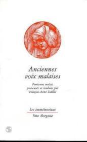 Anciennes Voix Malaises - Couverture - Format classique