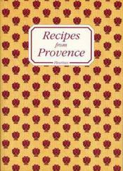 Recipes From Provence - Couverture - Format classique