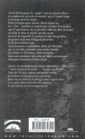 Les santons flingueurs - 4ème de couverture - Format classique