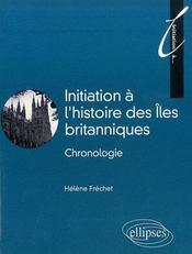 Initiation à l'histoire des îles britanniques - Intérieur - Format classique
