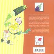Recettes aux épices ; croquis gourmands pour 27 épices - 4ème de couverture - Format classique