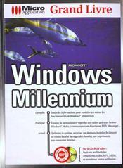 Grand Livre Windows Millenium - Intérieur - Format classique