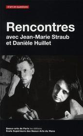 Rencontres ; Jean-Marie Straub et Daniele Huillet - Intérieur - Format classique