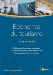 Economie du tourisme - Couverture - Format classique