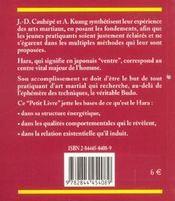 Petit Livre Du Hara (Le) - 4ème de couverture - Format classique