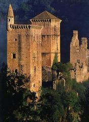 Trésors des châteaux de France - 4ème de couverture - Format classique