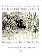 Passage Des Oiseaux - Couverture - Format classique