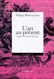Art Au Present (L') - Couverture - Format classique