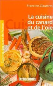 La Cuisine Du Canard Et Le L'Oie/Poche - Couverture - Format classique