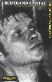 Noir Desir,L'Experience Des Limites - Intérieur - Format classique