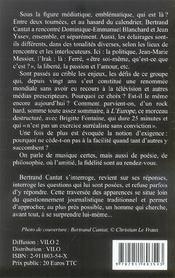 Noir Desir,L'Experience Des Limites - 4ème de couverture - Format classique