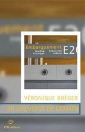 En Souvenir De Demain - Couverture - Format classique