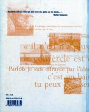 Marseille ; postcards - 4ème de couverture - Format classique