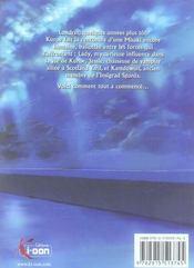 Blood alone t.4 - 4ème de couverture - Format classique
