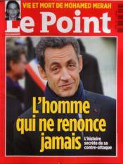 Point (Le) N°2063 du 29/03/2012 - Couverture - Format classique