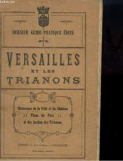 Versailles Et Les Trianons - Couverture - Format classique