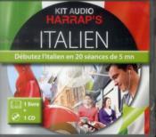 Kit Audio Harrap'S ; Italien ; Débutez L'Italien En 20 Séances De 5 Mn - Couverture - Format classique