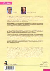 Principes De La Cosmologie - 4ème de couverture - Format classique