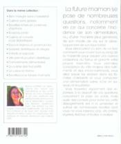 Recettes equilibrees pour futures mamans - 4ème de couverture - Format classique