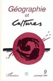 Geographie Et Cultures 9 - Couverture - Format classique