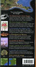 Alpes-Maritimes - 4ème de couverture - Format classique
