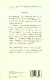La Cerisaie ; Edition 2002 - 4ème de couverture - Format classique