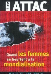 Quand Les Femmes Se Heurtent A La Mondialisation - Intérieur - Format classique
