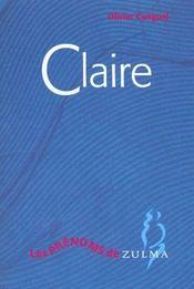 Claire - Intérieur - Format classique
