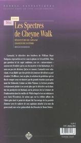 Les spectres de cheyne walk - 4ème de couverture - Format classique